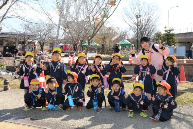 桜B組の3月の様子