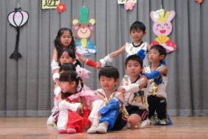 桜B組の2月の様子