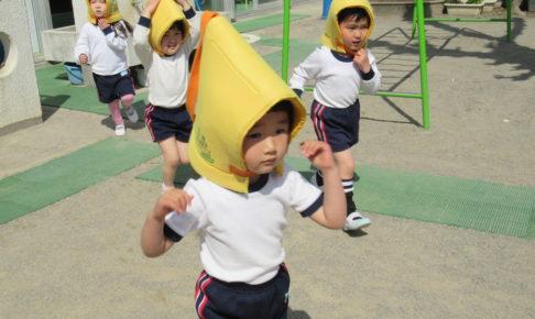 桜B組4月の様子